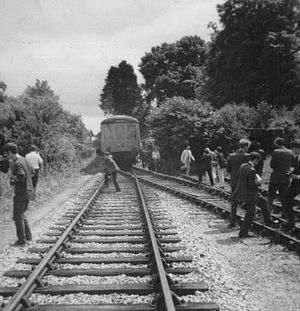 Moretonhampstead and South Devon Railway - Image: Teigngracestation 2