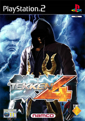 Tekken 4 - Image: Tekken 4 Coverart