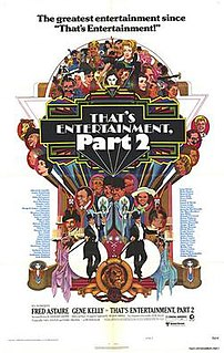 <i>Thats Entertainment, Part II</i> 1976 film by Gene Kelly