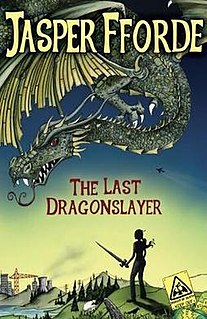 <i>The Last Dragonslayer</i> novel by Jasper Fforde
