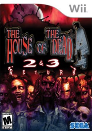 The House of the Dead 2 & 3 Return - Image: The House of the Dead 2 & 3 Return Coverart