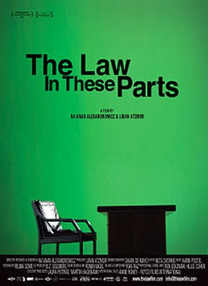 The Law in These Parts - Film poster