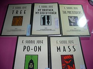 The Rosales Saga by F. Sionil Jose Book covers.jpg
