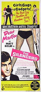 <i>The Silencers</i> (film) 1966 spy spoof film directed by Phil Karlson