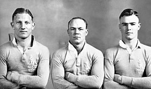 Sydney Roosters - Image: Three Rooster Blues 1931