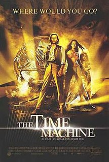 The Time Machine (2002) (In Hindi) SL DM -  Guy Pearce, Jeremy Irons, Orlando Jones, Samantha Mumba, Mark Addy, Sienna Guillory, and Phyllida Law