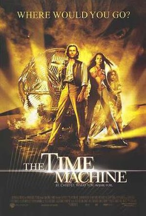 The Time Machine (2002 film) - Theatrical release poster