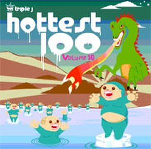 Triple J Hottest 100, 2002 - Volume 10 CD Cover