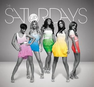 The Saturdays — Up (studio acapella)