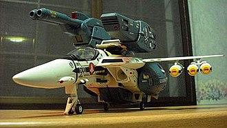 VF-1 Valkyrie - 1/48 scale VF-1S Strike Valkyrie (Fighter mode) by Yamato Toys