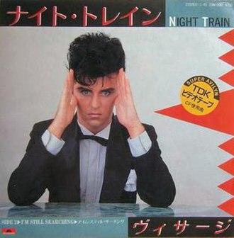 Night Train (Visage song) - Image: Visage Night Train Japan