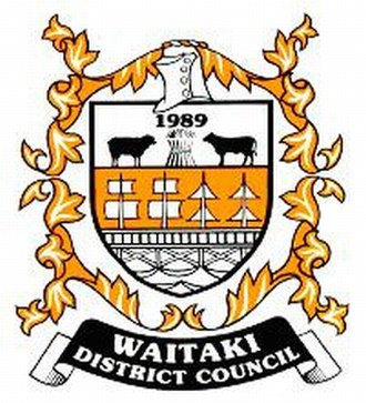Waitaki District - Image: Waitaki District Council Crest