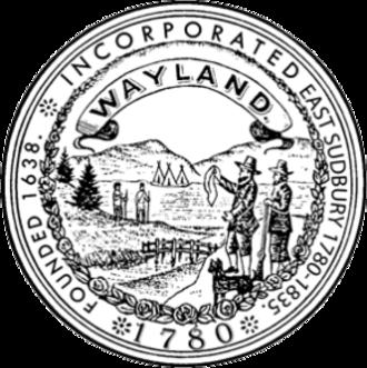 Wayland, Massachusetts - Image: Wayland MA seal