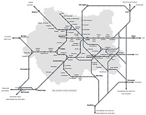 Leeds City Region - The West Yorkshire rail network