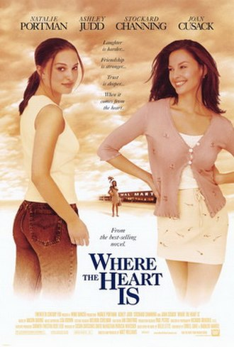 Where the Heart Is (2000 film) - Theatrical release poster