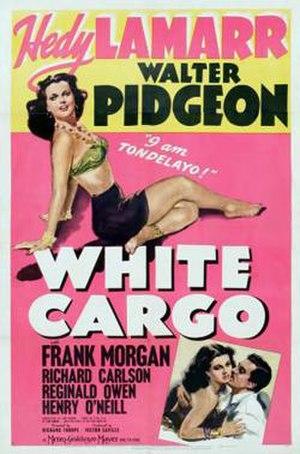 "White Cargo - 1942 type ""B"" theatrical poster"
