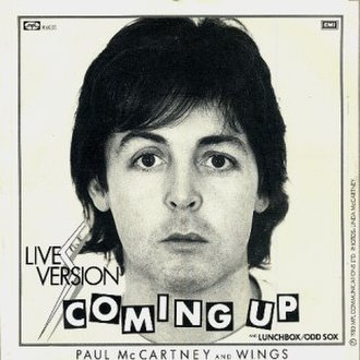 Coming Up (song) - Image: Wings Coming Up