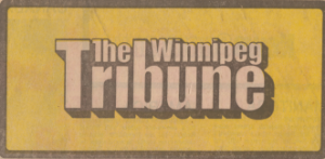 Winnipeg Tribune - Image: Winnipegtribune logo