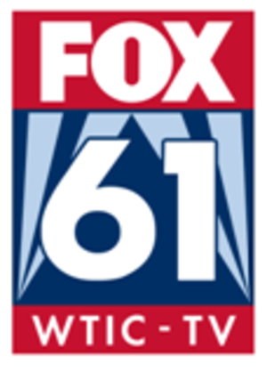 "WTIC-TV - This WTIC-TV logo, introduced in 2008, is based on the logos used by stations owned by Fox Television Stations. This version was phased out after the move to the Courant facilities in 2009, though a ""Fox CT News"" version remained in use during newscasts for some time thereafter."