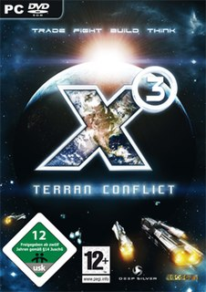<i>X3: Terran Conflict</i> 2008 space trading and combat simulator