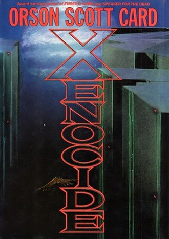 Xenocide - Cover of first edition (hardcover)