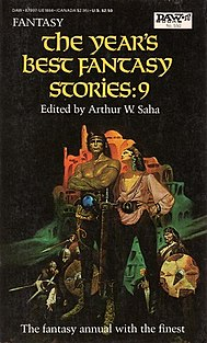 <i>The Years Best Fantasy Stories: 9</i> book by Arthur W. Saha