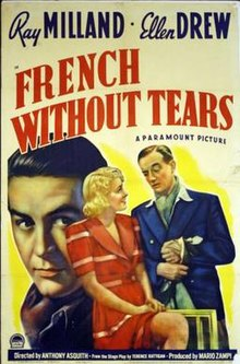 """French Without Tears"" (1940) .jpg"