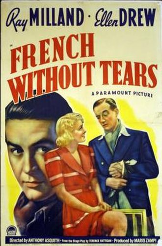 French Without Tears (film) - Film poster