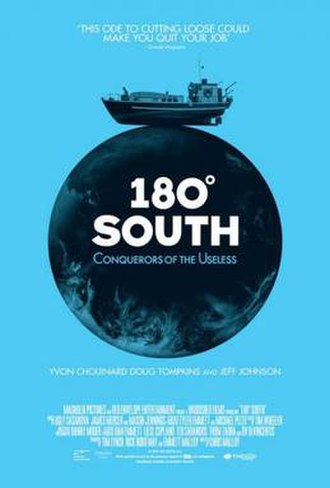 180 Degrees South: Conquerors of the Useless - Theatrical poster