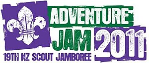 New Zealand Scout Jamboree - Image: 19th NZ Scout Jamboree Logo
