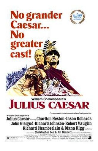 Julius Caesar (1970 film) - film poster