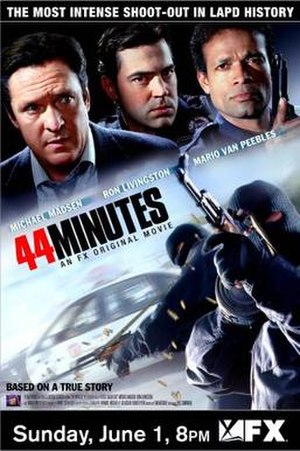 44 Minutes: The North Hollywood Shoot-Out - US Poster