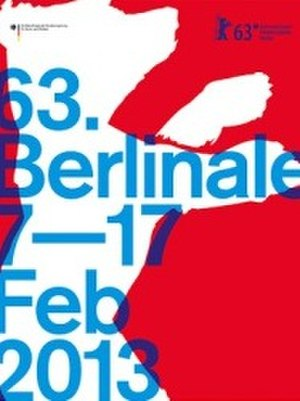63rd Berlin International Film Festival - Festival poster