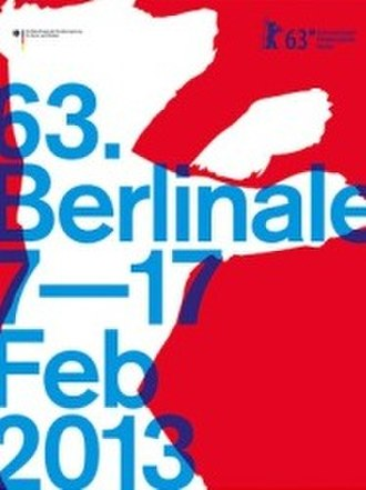 63rd Berlin International Film Festival - Festival poster