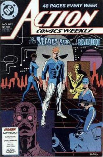 Secret Six (comics) - Image: Action Comics Weekly 612
