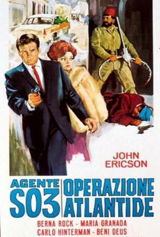 Operation Atlantis (film) - Original film poster