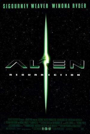 Alien Resurrection - Theatrical release poster