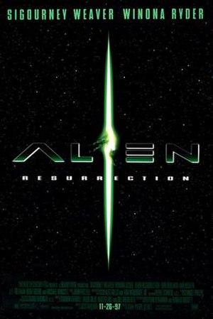 Alien Resurrection - Theatrical release poster