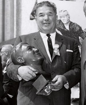 Arnie Herber - Pro Football Hall of Fame induction in 1966
