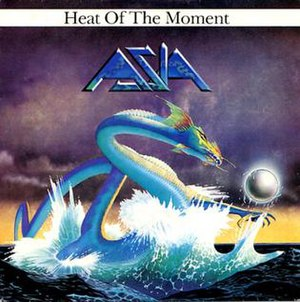 Heat of the Moment (Asia song) - Image: Asia Heat of the Moment single cover