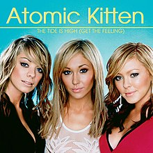 Atomic Kitten — The Tide Is High (Get the Feeling) (studio acapella)