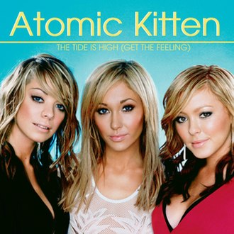 The Tide Is High - Image: Atomic Kitten The Tide Is High Cover