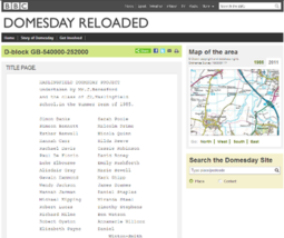 BBC Domesday Reloaded screenshot
