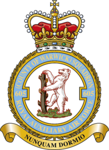 Badge of No. 605 Squadron RAF.png