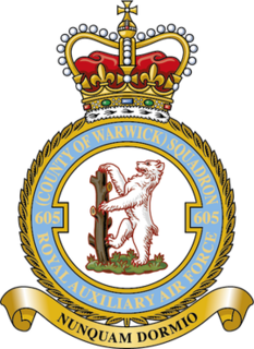 No. 605 Squadron RAF