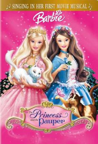 Barbie as the Princess and the Pauper - DVD/VHS Cover