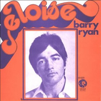 Eloise (Paul Ryan song) - Image: Barry Ryan Eloise