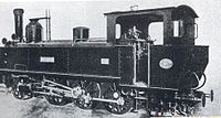 Locomotive Γ10 of Attica Railways
