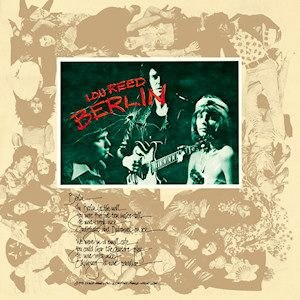 Berlin (Lou Reed album) - Image: Berlinloureed