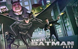 Beware the Batman - Image: Bewarethebatman promotional